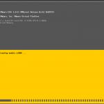 VMware ESXi 6.0 Update 2 - Bootvorgang
