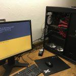 VMware vSphere Homelab Server / Booting up