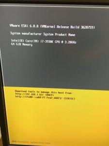 VMware vSphere Homelab Server / 12 Core + 64 GB Ram