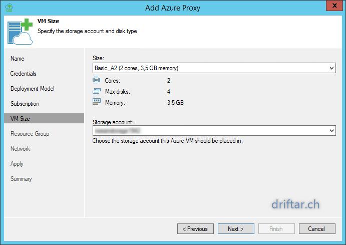 Veeam – Configure Azure Direct Restore with Veeam 9 5 – driftar's Blog