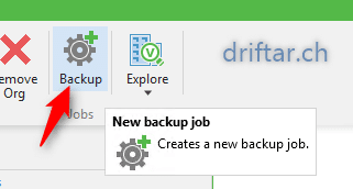 Add a backup job