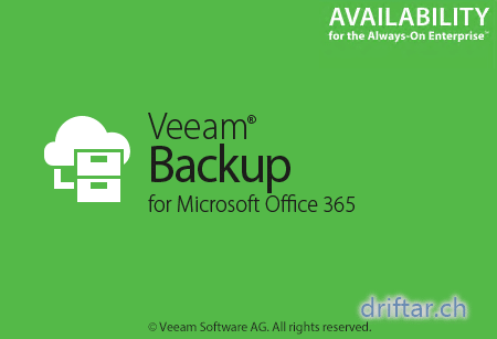 Veeam – Backup your Office 365 mailboxes (on a UNC path)