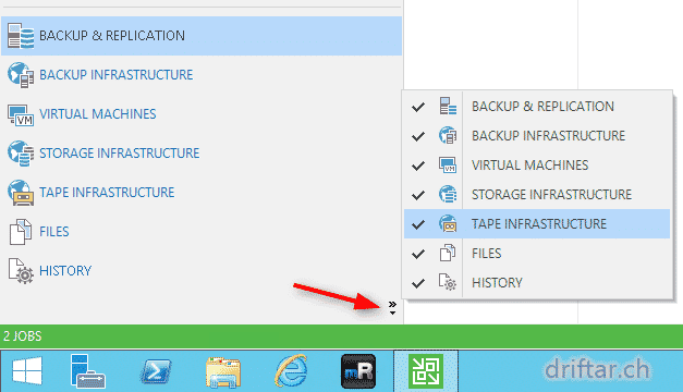 Veeam – Customize your Backup & Replication Console