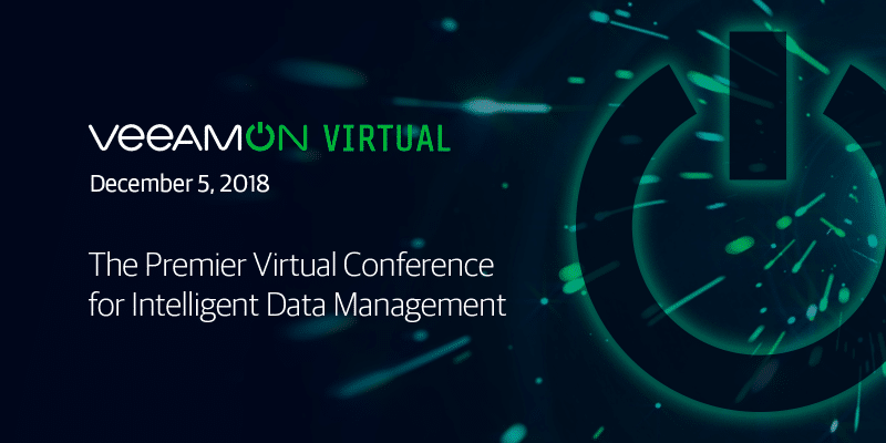VeeamON Virtual – unique online conference on intelligent data management